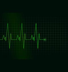 Rhythm heart vector