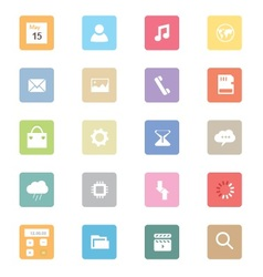 Web Icons 40 vector image