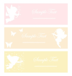 cupid soft color vector image