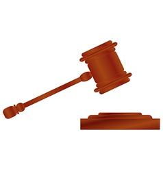 hammer of justice 1 v vector image