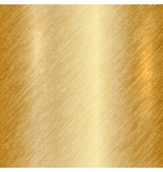 abstract metallic gold background vector image vector image