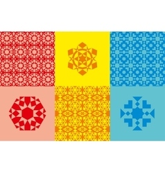 Abstract geometric elements vector image