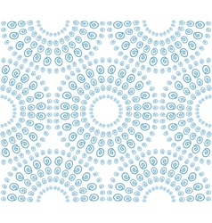 abstract seamless pattern with decorative circles vector image