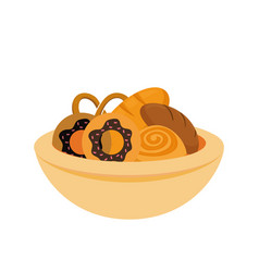Bakery goods design vector