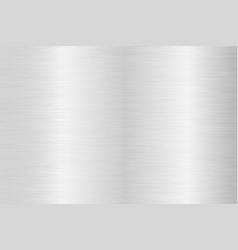 Brushed steel background metal texture vector