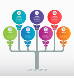 Development and growth business horizontal vector