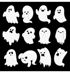 Ghost character characters vector image