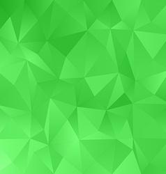 Green irregular triangle pattern background vector