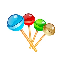 Icon lollipop vector