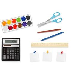 Office supplies vector vector