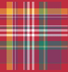 pink check seamless fabric texture square pixel vector image