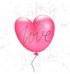 Valentines balloon vector