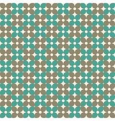 retro flower pattern stock vector image