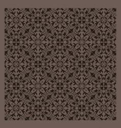 vintage pattern series vector image vector image