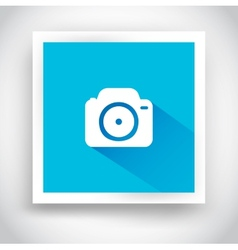 Icon of camera for web and mobile applications vector image