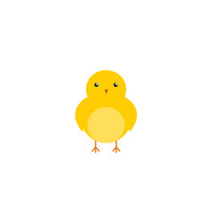 Flat icon chicken element of vector