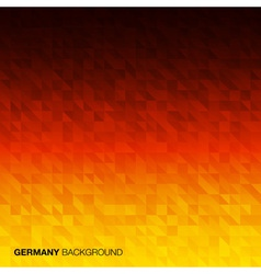Abstract Background using Germany flag colors vector image