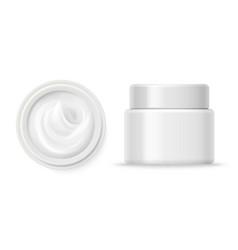 Cosmetic cream containers cream container vector