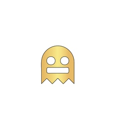 Ghost computer symbol vector