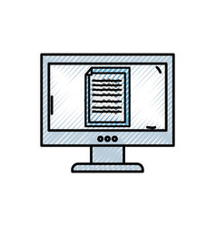 Grated electronic document information inside vector