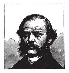 henry jarvis raymond vintage vector image