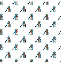 Kids slide pattern seamless vector
