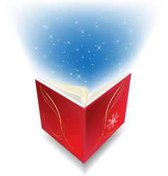 magic book vector image