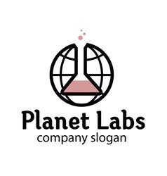 Planet labs design vector