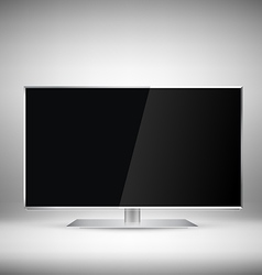 Flat Tv vector image vector image