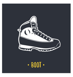 boot vector image