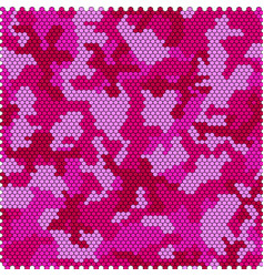 Camouflage pixel seamless vector