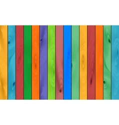 Color wood background vector