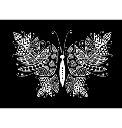 Colorful butterfly for your design vector
