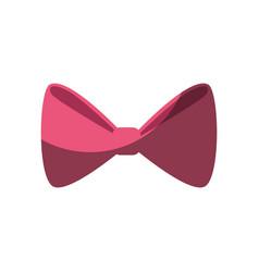 Decorative bow tie vector
