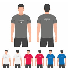 Men t-shirt design template vector