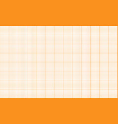 millimeter grid square graph paper background vector image