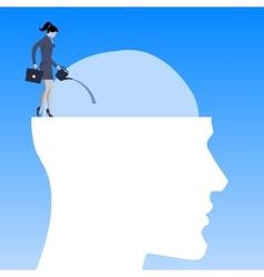Motivation business concept vector image