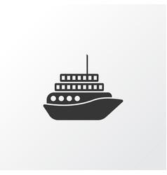 Motorboat icon symbol premium quality isolated vector