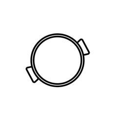 Paella icon vector