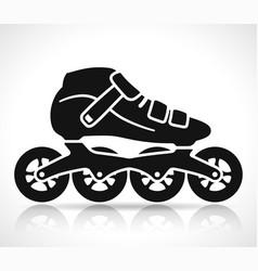 roller skate icon design vector image