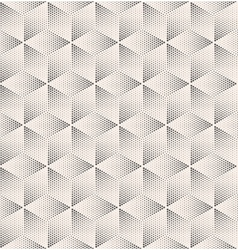 Seamless Stippled Vintage HalfTone Geometric vector