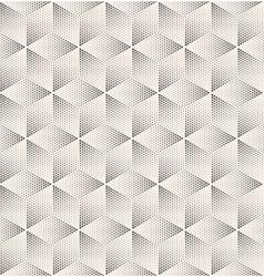 Seamless Stippled Vintage HalfTone Geometric vector image