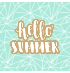 Summer hipster boho background vector