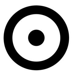 Symbol sun icon black color flat style simple vector