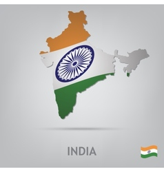 country india vector image