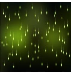 Sparkle rain background vector image