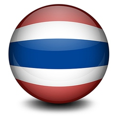A ball from Thailand vector image vector image
