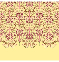 Background eastern floral vector image vector image