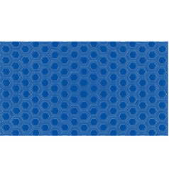 Abstract background hexagons outline vector