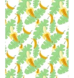 bananas pattern transparent background vector image